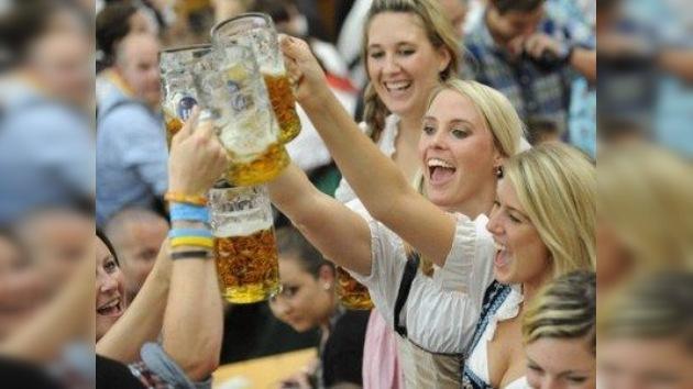 Oktoberfest 2011: ríos de cerveza inundan Múnich