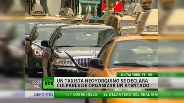 Un taxista se declara culpable de organizar un atentado en Nueva York