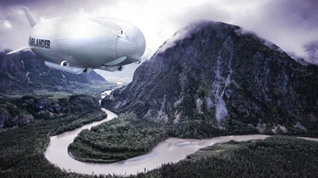 Fotos: Reino Unido airea la aeronave más larga del mundo