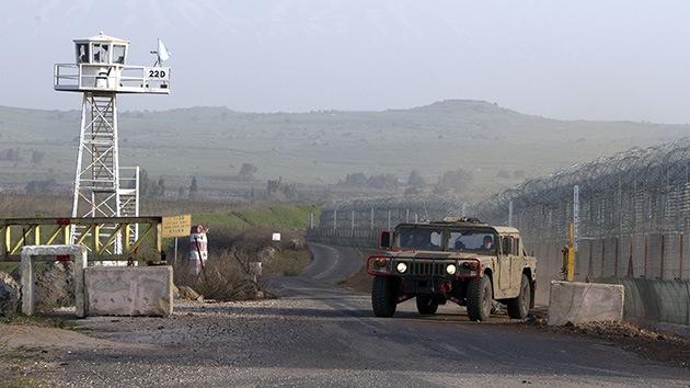 El Ejército de Israel está en alerta máxima debido a la actividad de los rebeldes sirios