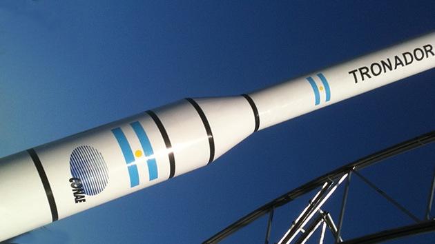 Argentina lanzará un cohete de prueba antes de poner en órbita satélites de observación