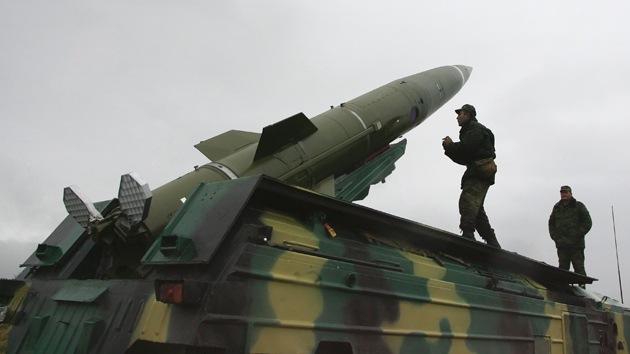 Rusia realiza con éxito las pruebas de sistemas tácticos de misiles