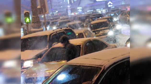 El 9 de diciembre: Día de los atascos en Moscú
