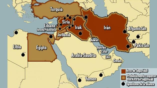 La alianza Arco de Seguridad, un nuevo rumbo para Oriente Medio