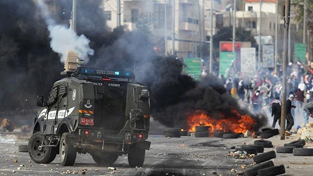 Fotos: Choques violentos entre palestinos y las fuerzas israelíes en Cisjordania