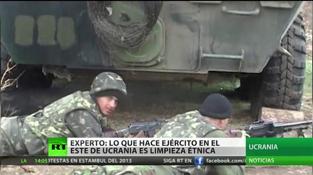 """""""Lo que hace el Ejército en el este de Ucrania es una limpieza étnica"""""""