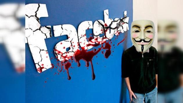 Anonymous aniquilará Facebook el próximo 5 de noviembre
