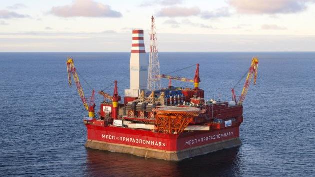Rusia empieza la extracción de petróleo en el Ártico