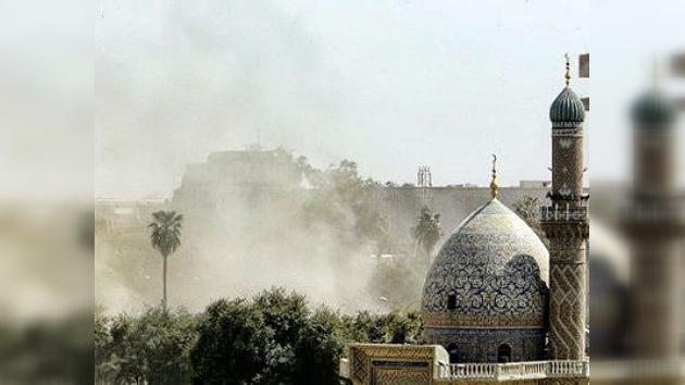 Dos explosiones fuertes cerca del sitio de la Cumbre de la Liga Árabe en Bagdad