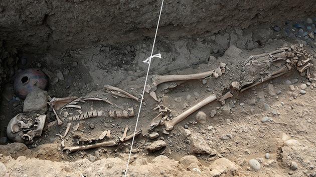 Hallan los restos humanos más antiguos de la cultura prehispánica en Perú