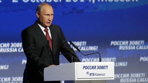 "Putin: ""La salida de Ucrania de la crisis corresponde a los intereses de Rusia"""