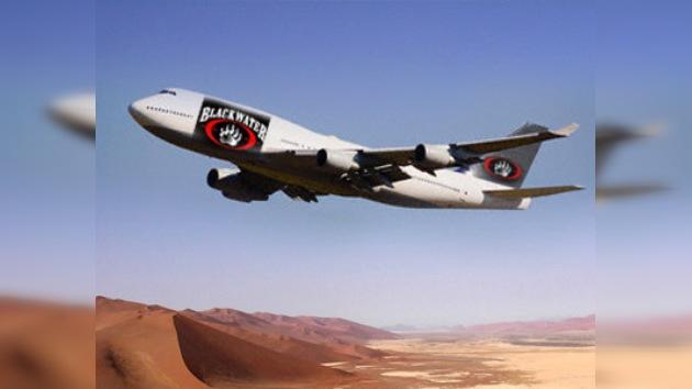 Línea aérea de Blackwater sirve a los EE. UU. en Asia Central
