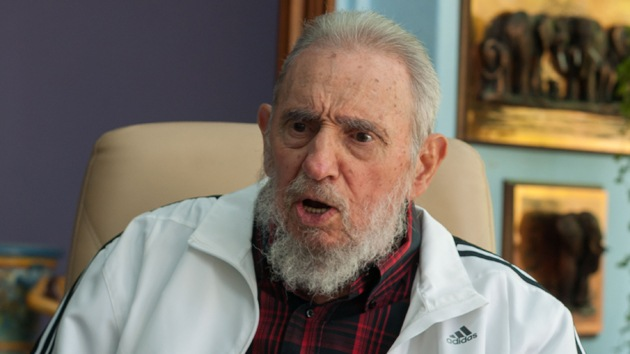 """Fidel Castro: """"Culpar a Rusia del siniestro del MH17 es de un simplismo anonadante"""""""