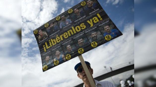 Las FARC liberarán a 3 policías en enero próximo