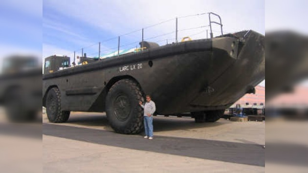Transporte anfibio a precio de Mercedes