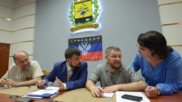 Ucrania: crean un 'Frente Popular' en Donetsk