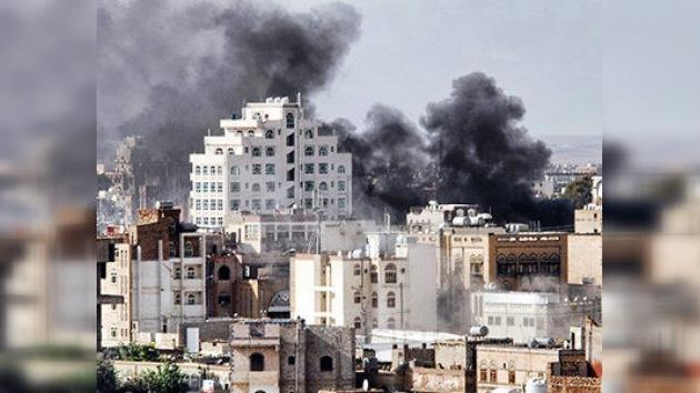 Los disturbios en la capital de Yemen se intensifican y dejan más de 100 muertos