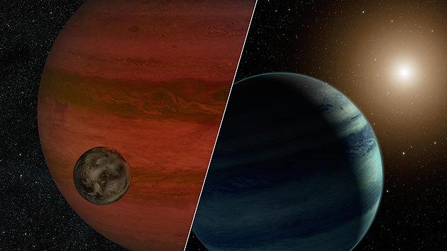 Hallan señales de la primera luna fuera del Sistema Solar