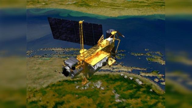 Un satélite de la NASA de unas 6 toneladas caerá a la Tierra