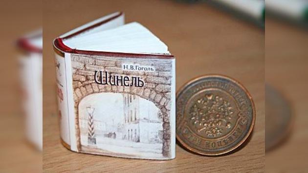 El libro más pequeño en el mundo del escritor ruso Nikolai Gogol