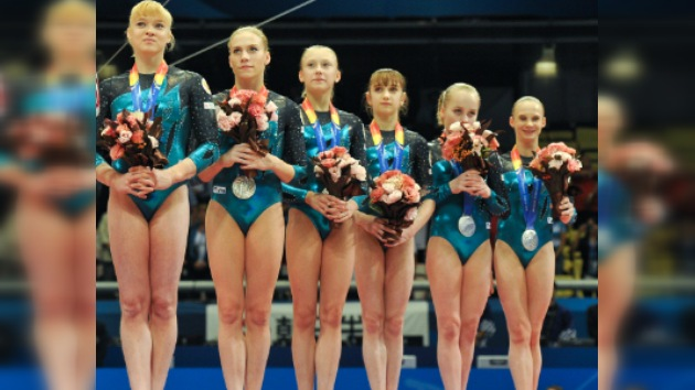 Rusia obtiene la medalla de plata en el Mundial de Gimnasia Artística