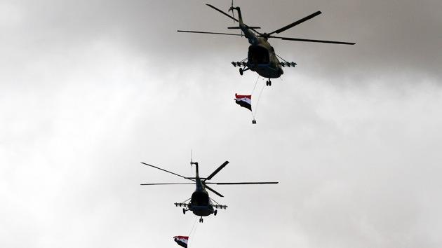 La aviación siria repele un ataque aéreo 'enemigo'