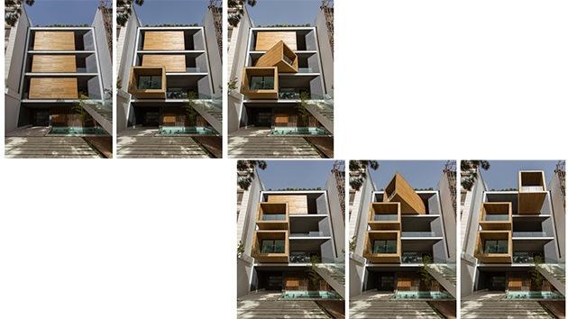 Fotos: Conozca por fuera y por dentro la 'casa-transformer' construida en Irán