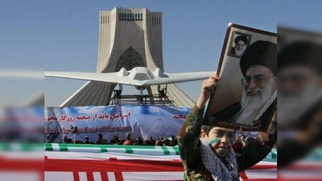 Irán construye una réplica del drone espía secreto de EE. UU.