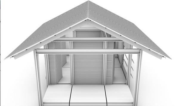 Fotos una compa a convierte basura en casas sostenibles - Casas prefabricadas sostenibles ...