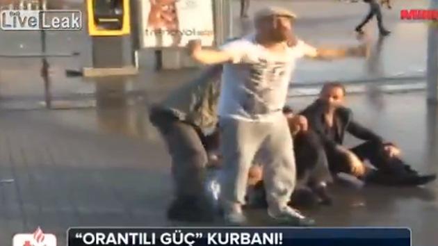 Video: Denuncian una muerte en las protestas antigubernamentales en Estambul
