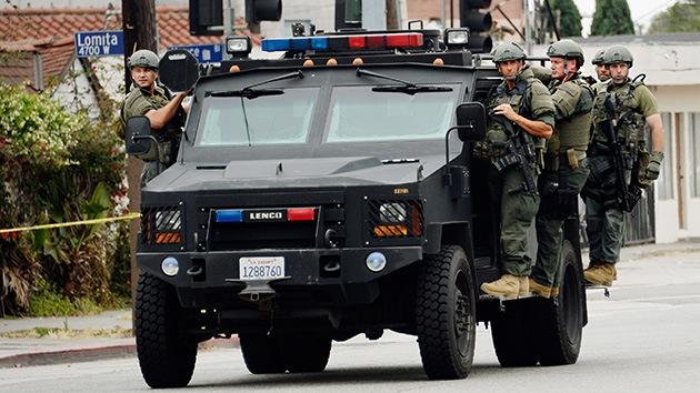 Policías con rifles: el uso de 'agentes soldado' en EE.UU. levanta la polémica