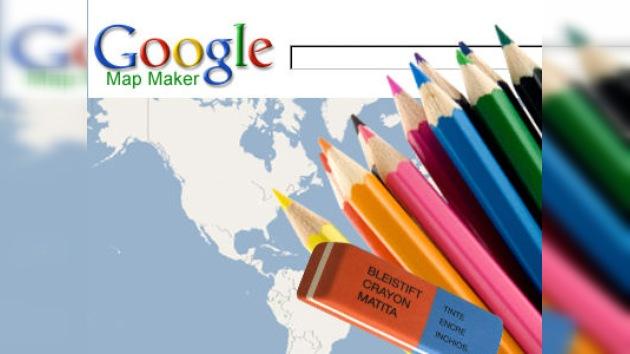 Se lanza 'Google Map Maker ', la aplicación que permite editar el mapa de EE. UU.