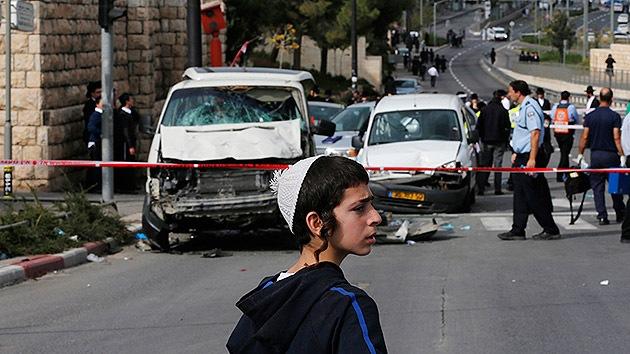 Video: Israel sufre un segundo atentado por atropello múltiple en menos de 24 horas