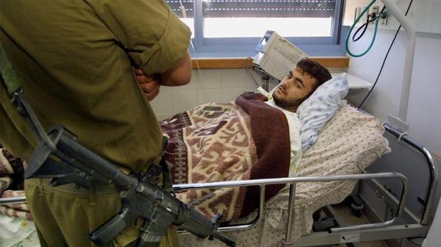 """Preso palestino: """"Este hospital es como una cárcel de la Alemania nazi"""""""