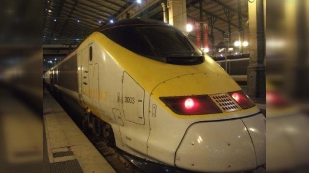 Se restablecerá parcialmente el tráfico ferroviario del 'Eurotúnel'