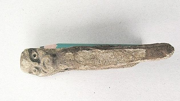Un siberiano pesca 'sin querer' a un dios pagano de 4.000 años de antigüedad