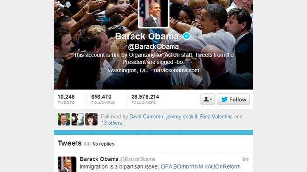 El Ejército Electrónico Sirio habría 'hackeado' las cuentas de Twitter y Facebook de Obama