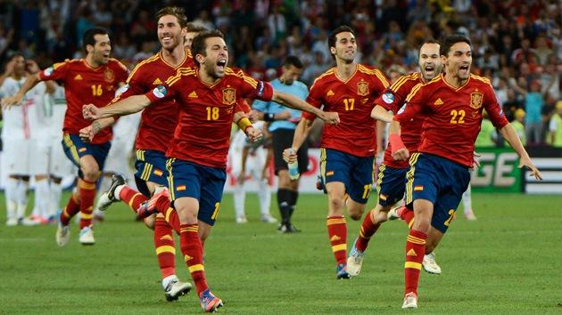 España se mete en la final de la Eurocopa tras vencer a Portugal en los penales