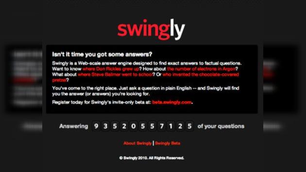 """En Internet apareció el buscador de hechos """"Swingly"""""""