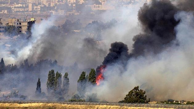 Dos cascos azules de la ONU resultan heridos en bombardeos en los Altos de Golán