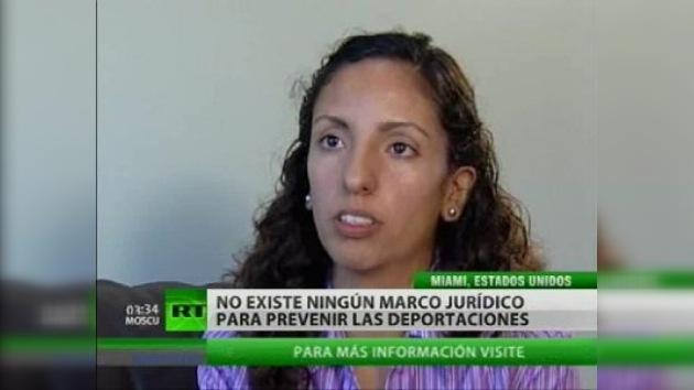 Una joven se convierte en inmigrante ilegal tras la muerte de su padre