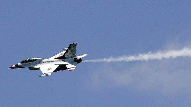 Un F-16 estadounidense estalla en Oriente Medio