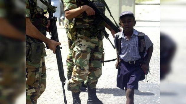 Uruguay investiga si cinco de sus 'cascos azules' violaron a un niño haitiano