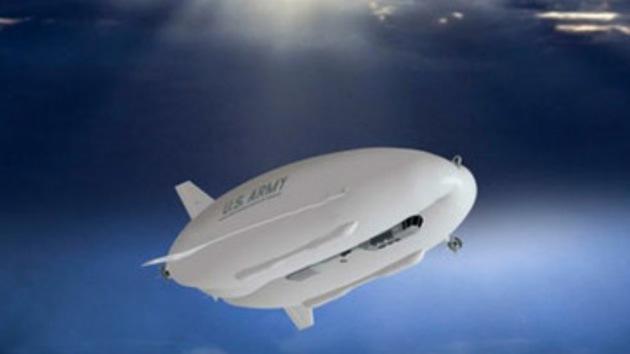 Video: dirigible espía probado con éxito en EE.UU.