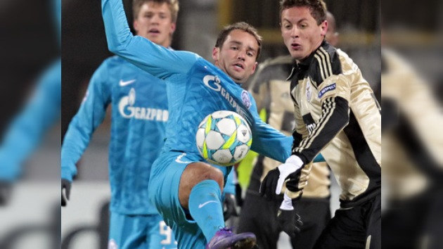 Champions: Zenit vence con susto al Benfica y sueña con los cuartos de final
