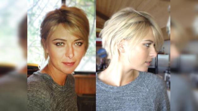 Fotos: ¿Te gusta el nuevo 'look' de María Sharápova?