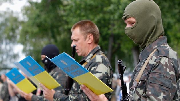 """Ucrania: """"Las fuerzas de seguridad están preparadas para acciones duras"""""""