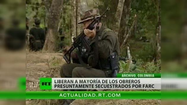 Rescatan a 22 de los 23 especialistas petroleros secuestrados en Colombia