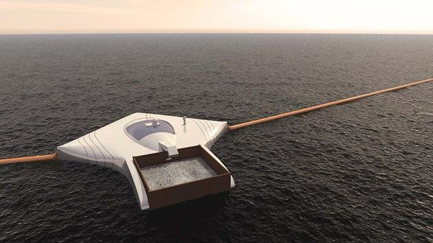 Un estudiante inventa un dispositivo para recoger más de 7 millones de toneladas de basura del mar