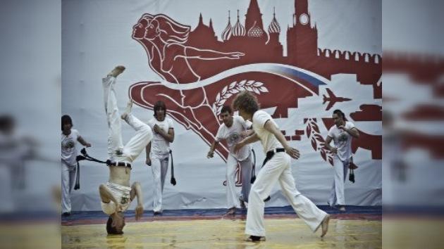 En Rusia la capoeira cada año gana más adeptos